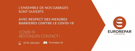 Situation COVID-19 : Garages disponibles